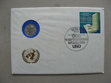 GERMANY DDR, eventcover 1973, member of the UNO United Nations