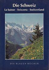 """Die Schweiz,aus der Serie """"Die Blauen Bücher""""1962 La Suisse Svizzera Switzerland"""
