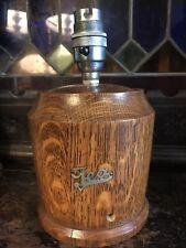 Tea Caddy Table Lamp Genuine Vintage Wooden Tea Caddy