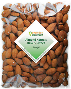 Whole Almond Premium Spanish Raw Large Almonds Nuts Ideal Keto Ingredient Nut