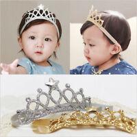 Princesse Couronne Bandeau Bébé Fille Enfant Serre-tête Cheveux Fête Accessoire