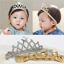 Princess Crown Headwear Headbands  Bow Girls Toddler Baby Kids Accessories Hair