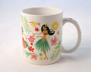Island HULA HONEYS Hawaii Coffee Mug Tea Cup ABC Stores Aloha Hawaii Pacific
