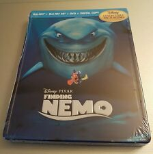 Futureshop Disney Finding Nemo METALPAK (Steelbook-like) Blu-Ray/3D/DVD NEW