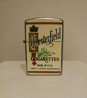 Rare Vintage 1960's Chesterfield Cigarette Lighter Highly Collectible