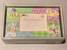 Babies R Us Whirligig Baby Child Keepsake Box, Jenny Faw Design, New