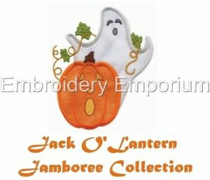 JACK O'LANTERN JAMBOREE COLLECTION - MACHINE EMBROIDERY DESIGNS ON CD OR USB