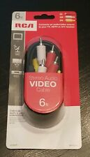 RCA VH84R Stereo A/V Dubbing Cable (6 ft)