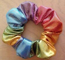 Hair Scrunchie - Pastel Metallic Multi