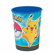 16oz Pokemon Pikachu and Friends Birthday Party Plastic Loot Treat Favor Cup