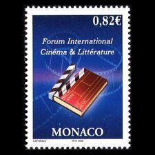Monaco 2006 - International Forum for Film and Literature Cinema - Sc 2407 MNH