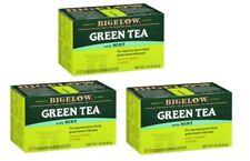 Bigelow Green Tea with Mint - 3 Boxes - 60 Tea Bags