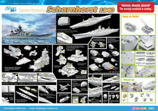 Dragon Plastic Model Kits #1062 1/350 German Battleship Scharnhorst, 1940