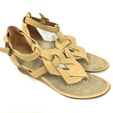 Pre Loved Max Azria Small Wooden Wedge Sandal Size 9