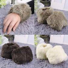 Unbranded Faux Fur Wrist Gloves & Mittens for Women