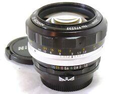 Nikon 55mm f/1.2 Nikkor-S Auto non AI lens EXC++ #37684