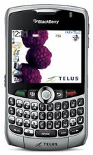 BlackBerry Curve 8330 Telus Smart Wireless Cell phone SILVER camera keyboard GPS