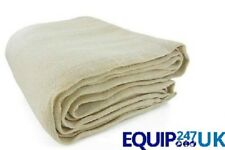 NEW PROFESSIONAL COTTON DUST SHEETS PAINTING DECORATING ( 12/6- 2 PACK )