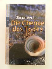 Simon Beckett Die Chemie des Todes Thriller Roman rororo