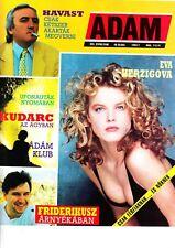 EVA  HERZIGOVA ,  TONY CURTIS   Hungarian magazine