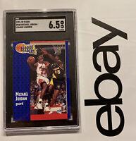 Michael Jordan SGC 6.5 Fleer Collector Card Man Cave Last Dance Vintage 1991 NR
