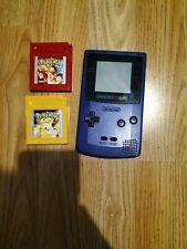 Nintendo Game Boy Handheld System - Grape with Pokemon Red and Yellow