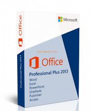 Microsoft Office 2013 Pro Plus MS Office Professional for 3PCs - German version