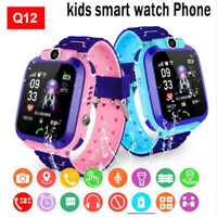 Smart Watch with GPS GSM Locator Touch Screen Tracker SOS for Kids Children US
