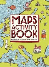 Maps Activity Book - Paperback NEW Aleksandra Mizi  FREE P&P