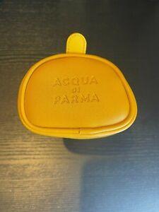 Acqua di Parma - Etihad Airways First 1st Class Amenity Kit Case Yellow Leather