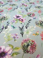 iLiv Catalina Seafoam Curtain Craft Fabric 4 Metre 100% Cotton