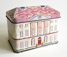 VINTAGE IAN LOGAN HINGED HOUSE SHAPED TIN CASTLE WARD N.IRELAND NATIONAL TRUST