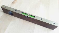"Vintage Spirit Level by J Rabone & Sons No.1627 Brass & Rosewood 9"" English"