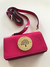 Mulberry Daria Mini Messenger For iPhone 4 Pink Patent Excellent Condition