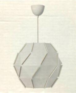 """IKEA SJÖPENNA SJOPENNA 17""""  Pendant Lamp, Round, White 203.630.85"""