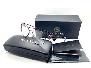 Authentic Versace Eyeglasses VE1250 1250 Purple Frames 52mm Rx-ABLE