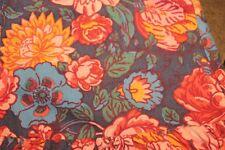 Laura Ashley vtg floral Prairie skirt w ruffles long sz 12 US cotton wool (b54)