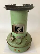 More details for vintage 1950s valor green enamel 6s-s paraffin heating / cooking stove 38cm high