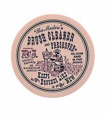 "B&J ""The Masters"" Brush Cleaner and Preserver 2.5oz Jar 101"