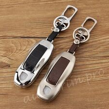 Key Bag Fob Case Shell Cover For Porsche Macan Panamera Cayman Boxster 911 918