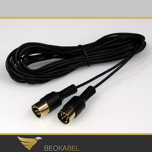 (5,24€/m) Powerlink Kabel MK3 dünn 5m für B&O BANG & OLUFSEN BeoSound BeoLab