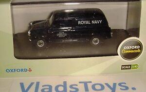 Oxford Military Diecast 1/43  careers office Royal Navy Mini Van MV032