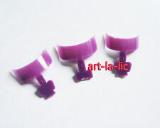 100 French False Nail Art Tips Short Wrap Edge Armor Acrylic UV Gel Tips + Box