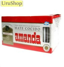 Y108 YERBA MATE AMANDA 25x COCIDO/TEA BAGS SLIMMING AID