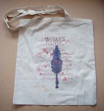 MARQUES TOLIVER 2011 UK promo-only cotton Tote Bag Bella Union Transgressive