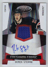 10-11 Certified Derek Stepan Auto Rookie Card RC Mirror Red #197 Mint Rare /100