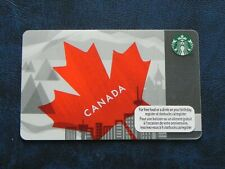 2012 Canada Maple Leaves Canadian Exclusive Starbucks Card NEW Unscratched 6077