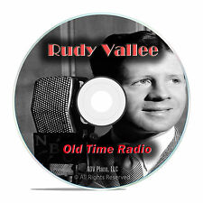 Rudy Vallee Show, with extras, 637 Old Time Radio Music Show, OTR mp3 DVD G46