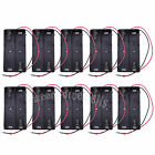 10pcs Battery Holder Storage Case box For 2 x 18650 17650 w/ Wire Lead US Stock