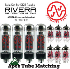 Tube set for Rivera S120 Combo guitar amplifier vacuum valve tubes